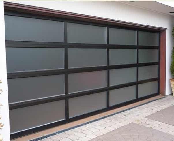 European Style Glass Garage Door Ax Building Material