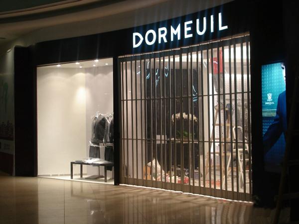 shopping front door/ Polycarbonate Crystal folding Door/crystal ...