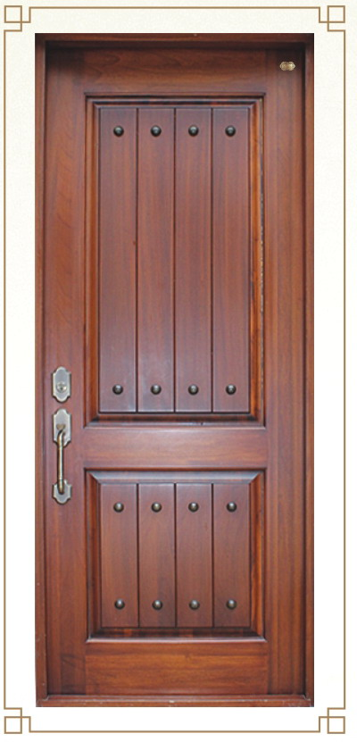 Wood Front Door Entry A X Building Material