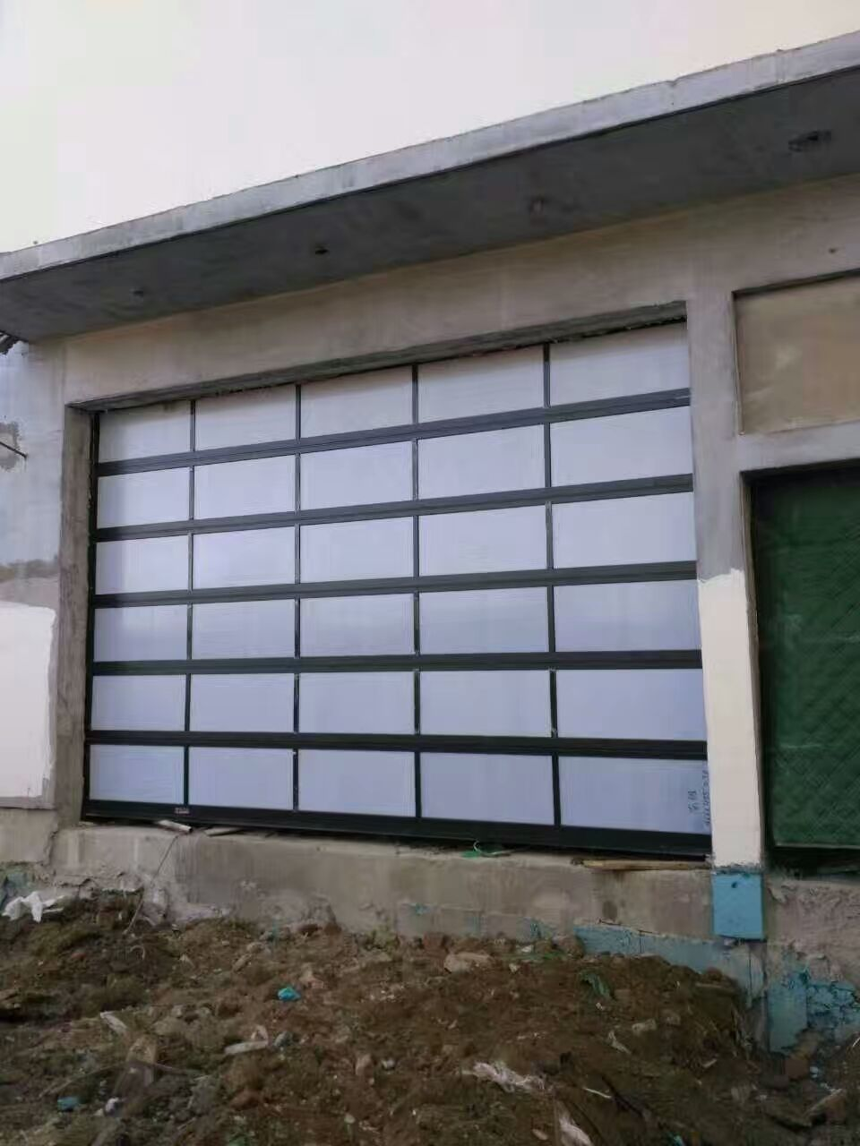Glass Garage Doorglass Door Contemporary Garage Door Ax Building